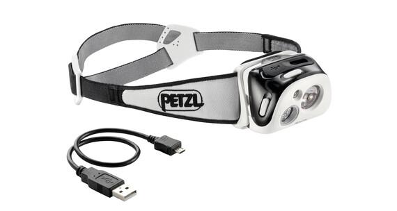 Petzl Reactik Stirnlampe Schwarz